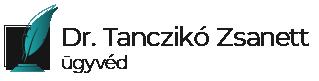 Dr. Tanczikó Zsanett, ügyvéd Logo